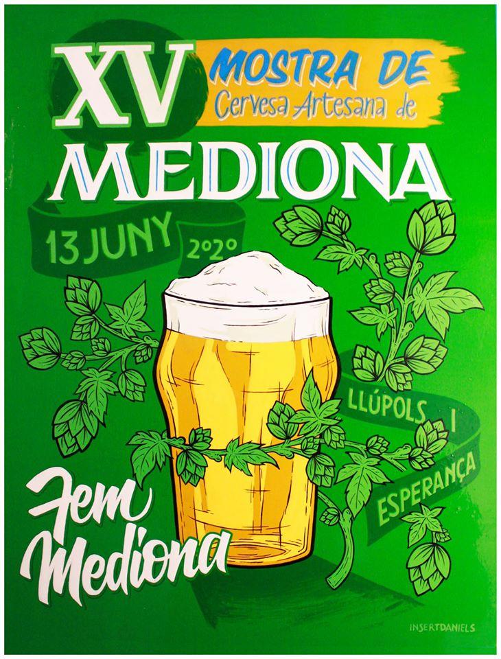 Programa de la mostra de cerveza artesana Mediona 2020