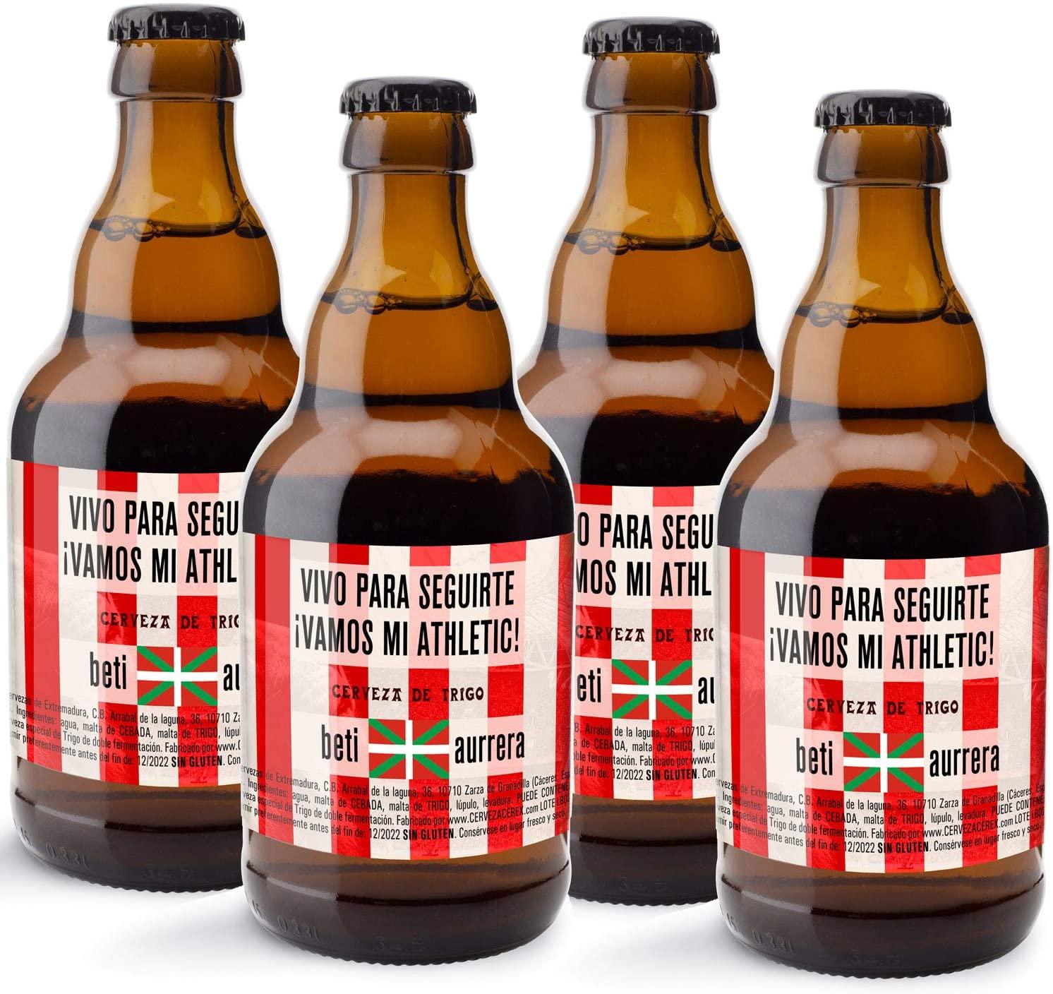 Cerveza personalizada del Athletic de Bilbao