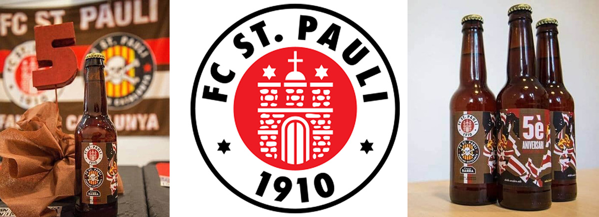 Cerveza homenaje al F.C. San Pauli
