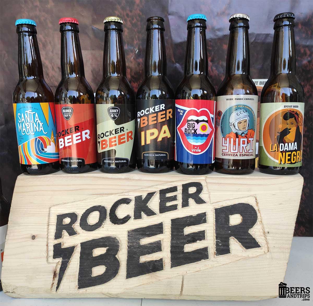 Cervezas de Rocker Beer