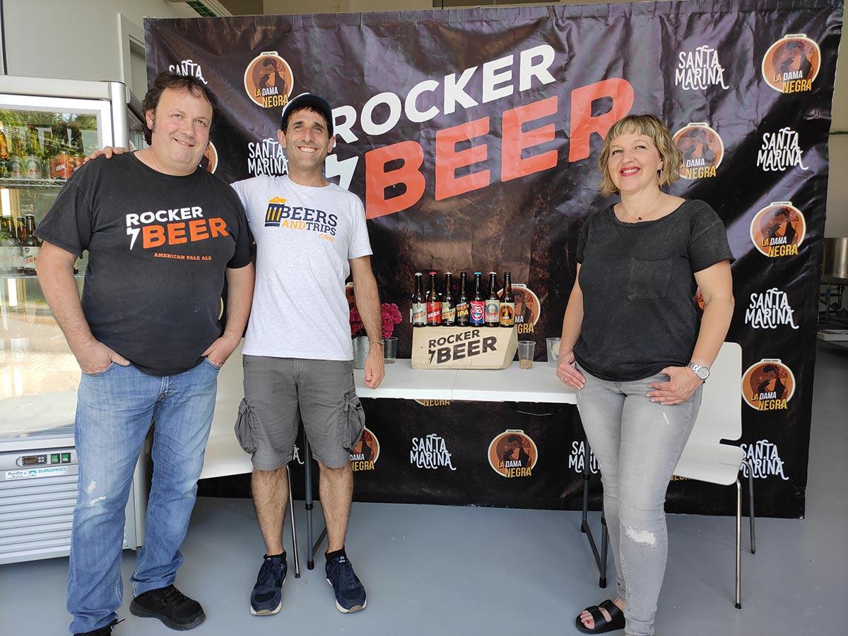 Felipe y Raquel de Rocker Beer