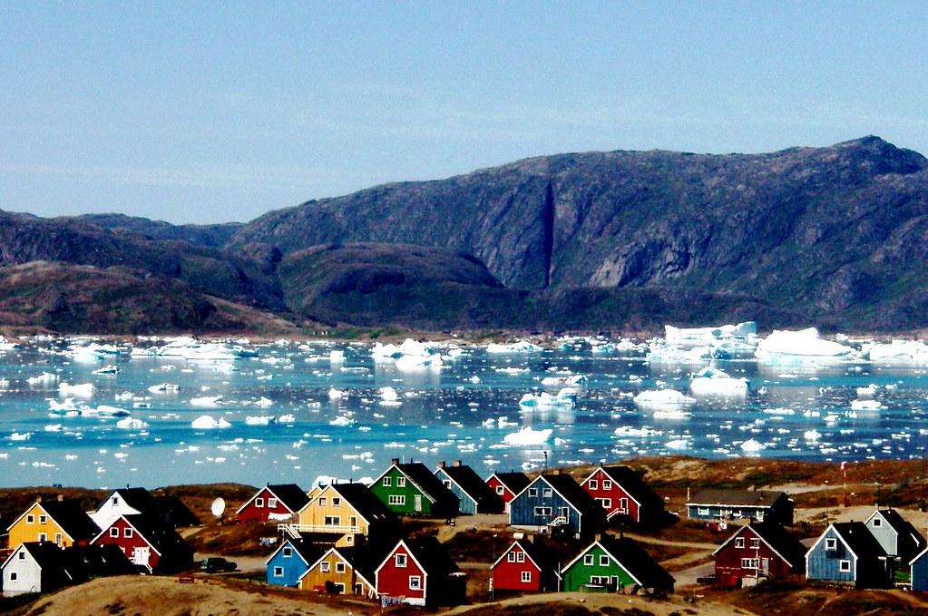Narsaq en Groenlandia