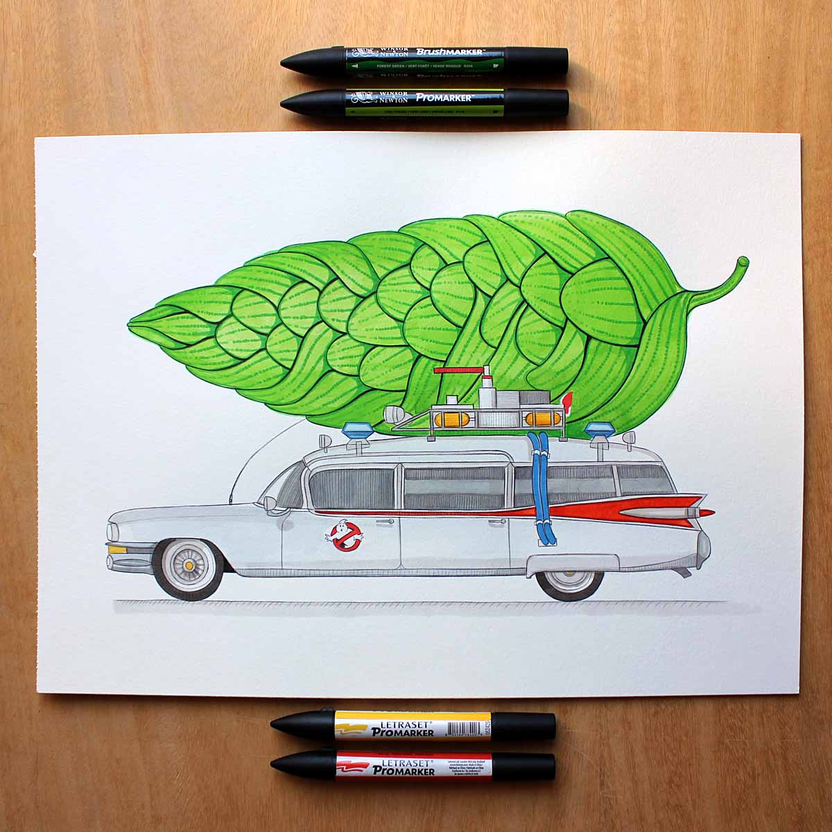 HOpBusters. Diseños de CRAFT BEER SKETCH