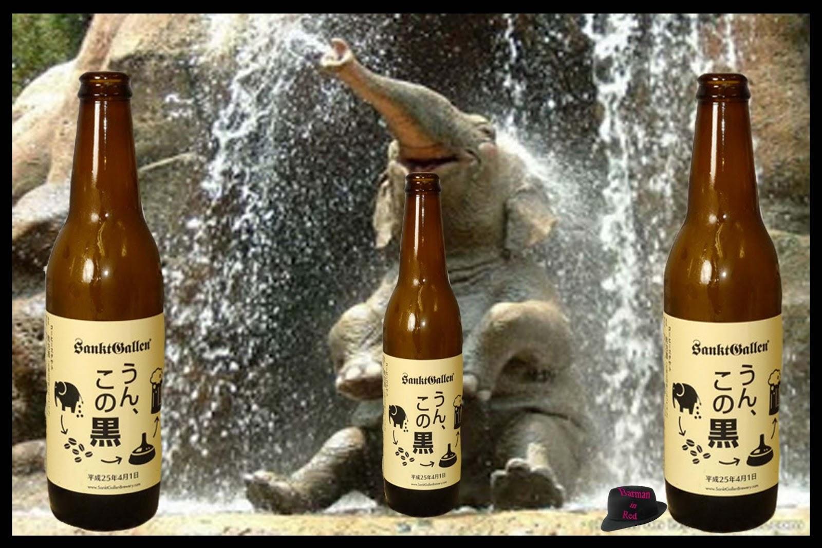 Cerveza con granos de café digeridos por elefantes