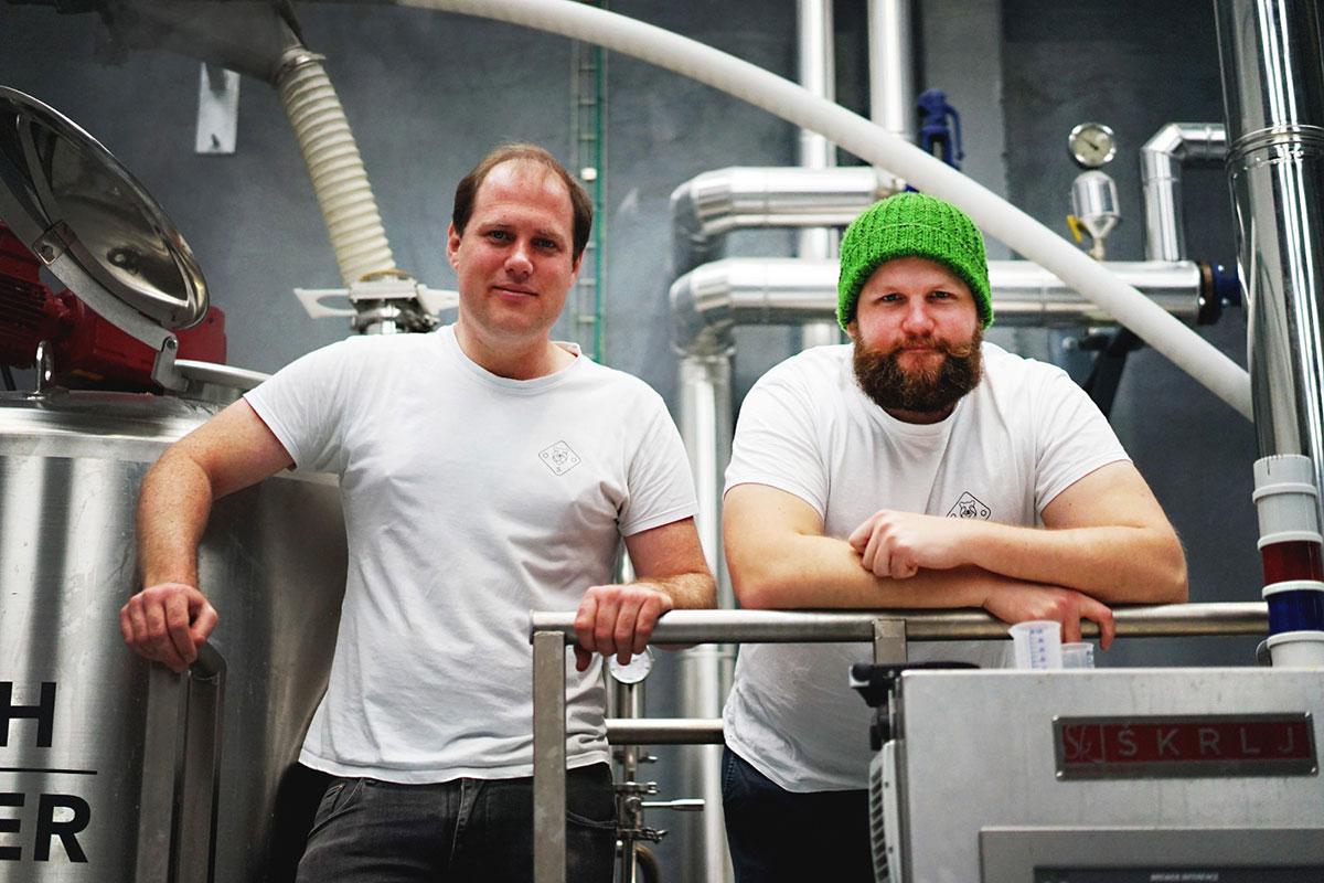 El equipo de Oso Brew Co