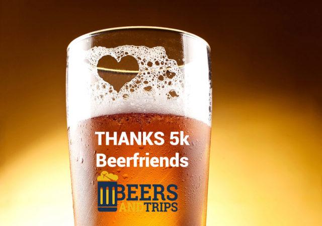 Sorteos por los 5.000 Seguidores = beerfriends en Instagram