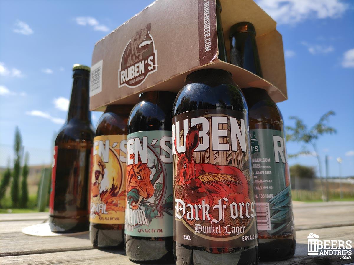 Cervezas de Ruben's Beer
