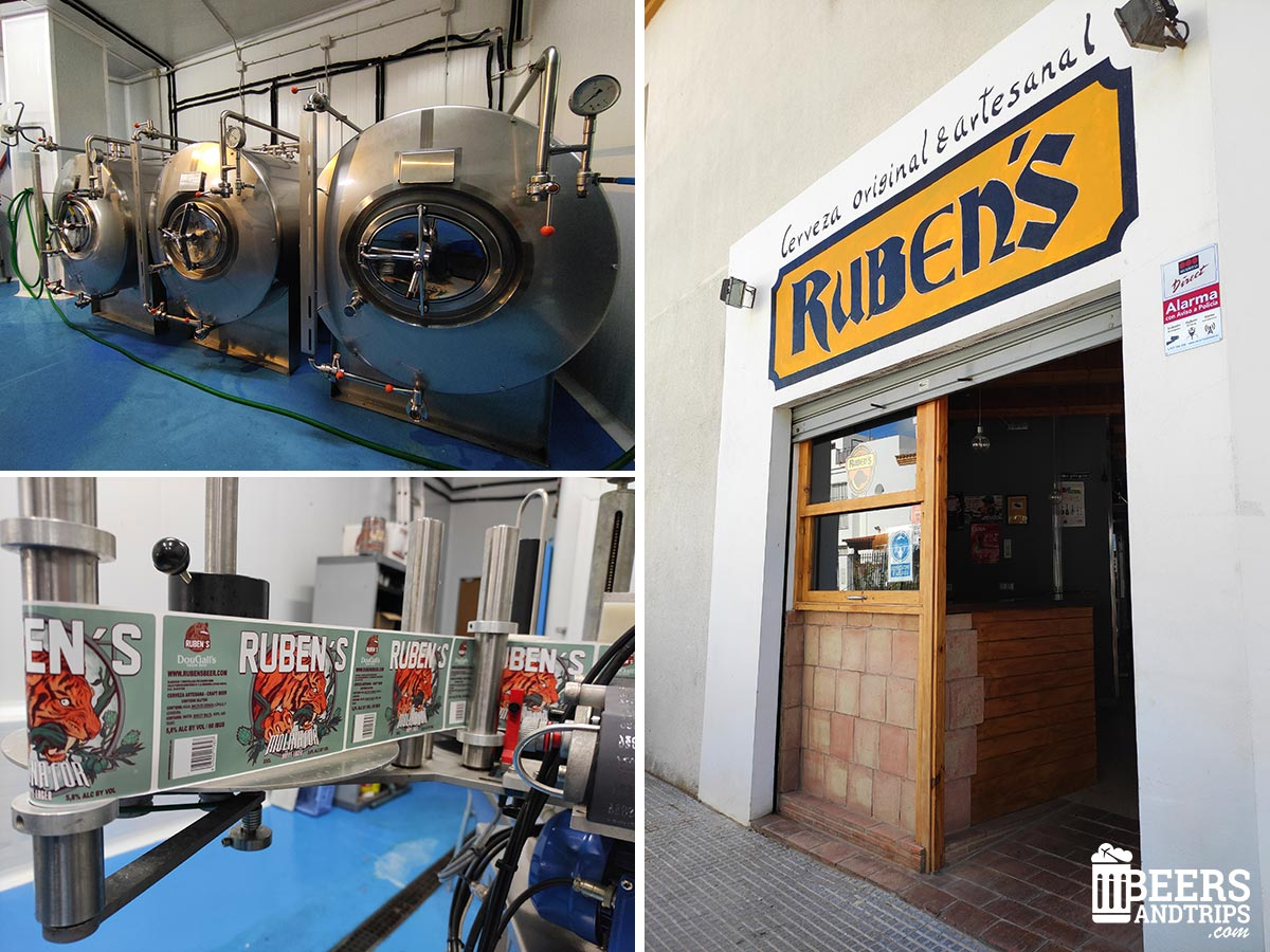 Visita a la fábrica de Ruben's Beer