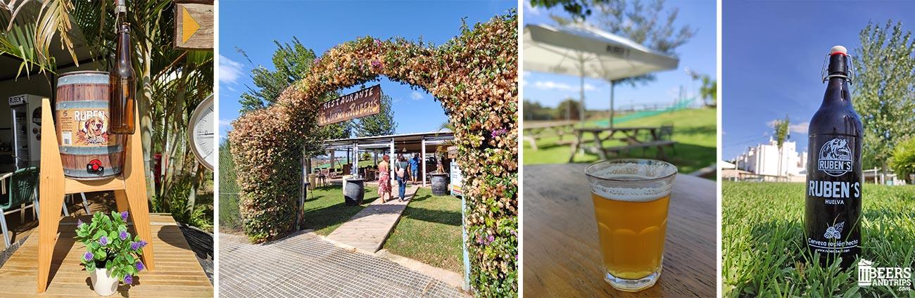 Jardín de Ruben's Beer