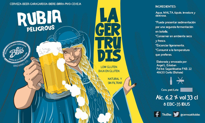 La Gertrudis - Blonde Ale