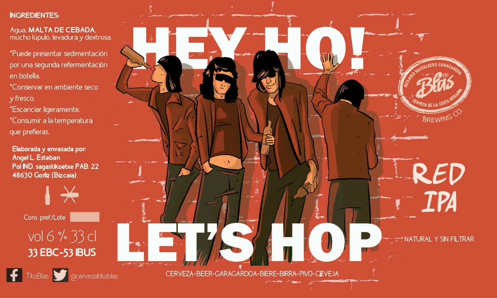 Hey Ho! Let's Hop - Red IPA
