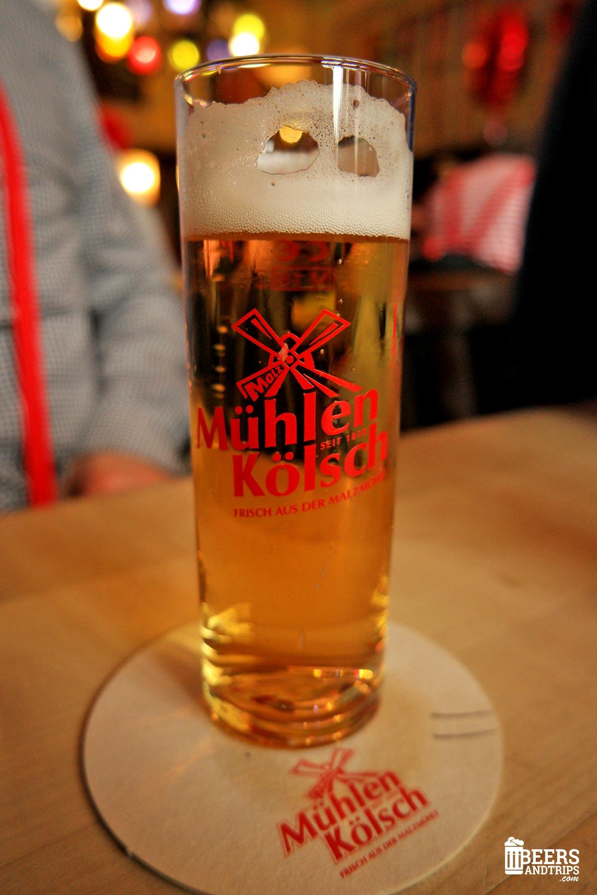 Cerveza Mühlen Kölsch