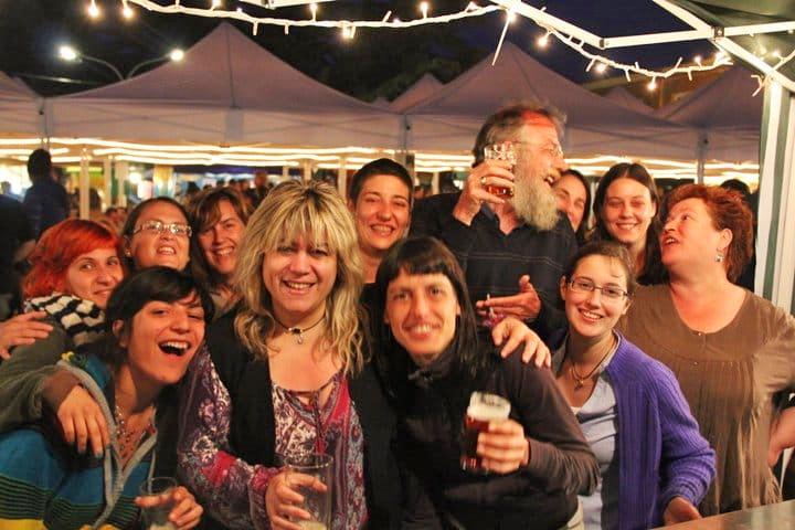 Steve Huxley en el festival Mediona