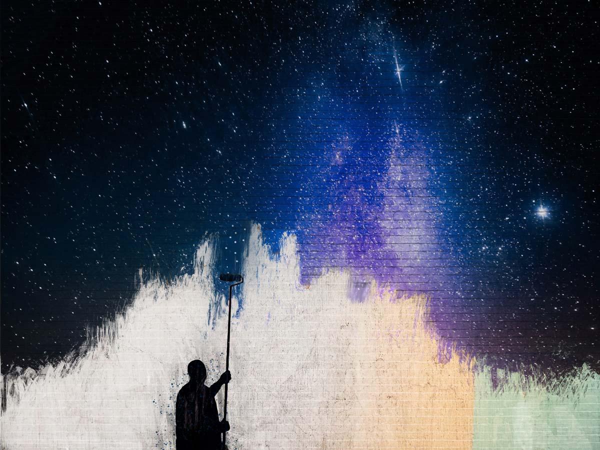 Etiqueta de la Berliner Weiss Paint The Stars