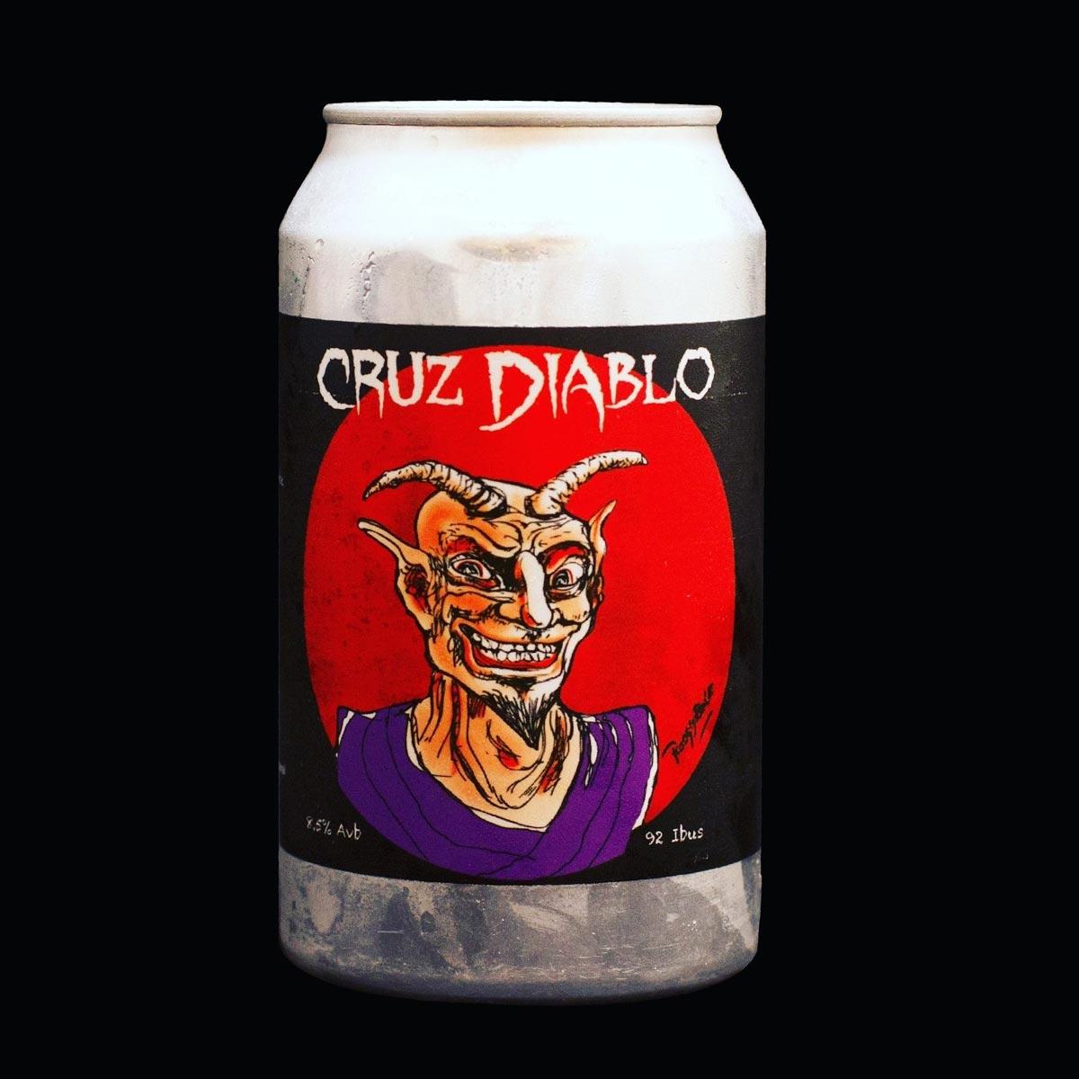Cerveza artesanal Cruz Diablo de Juguetes Perdidos