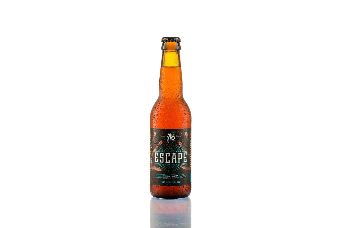 """Cerveza """"Escape"""" de As Cervezas"""