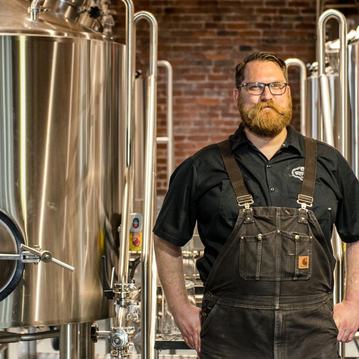Kevin Davey de Wayfinder Beer, co-creador de las COLD IPA