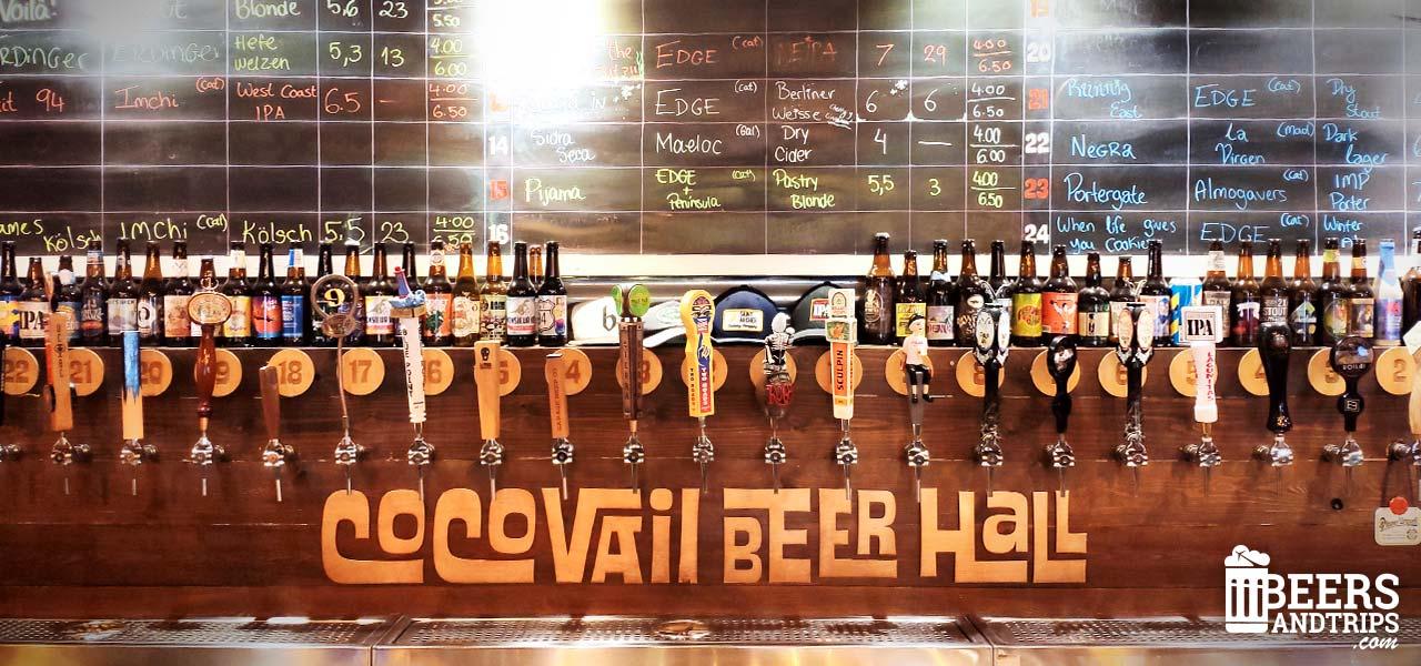 Grifos de cerveza artesana de Coco Vail