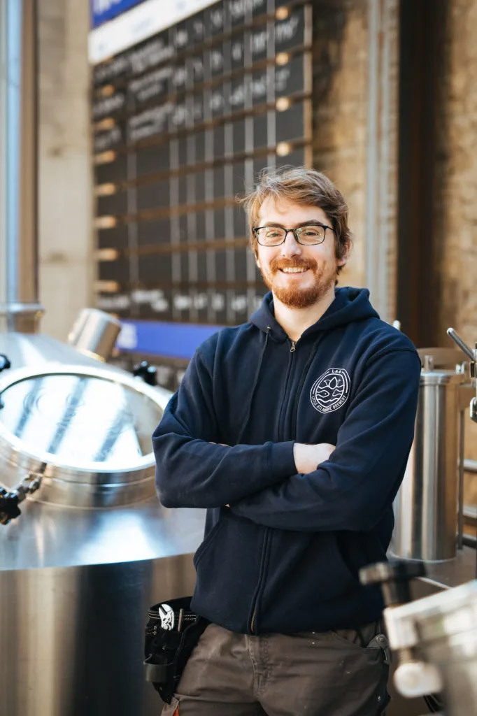 Simon Hicher, brewer de Little Atlantique Brewery