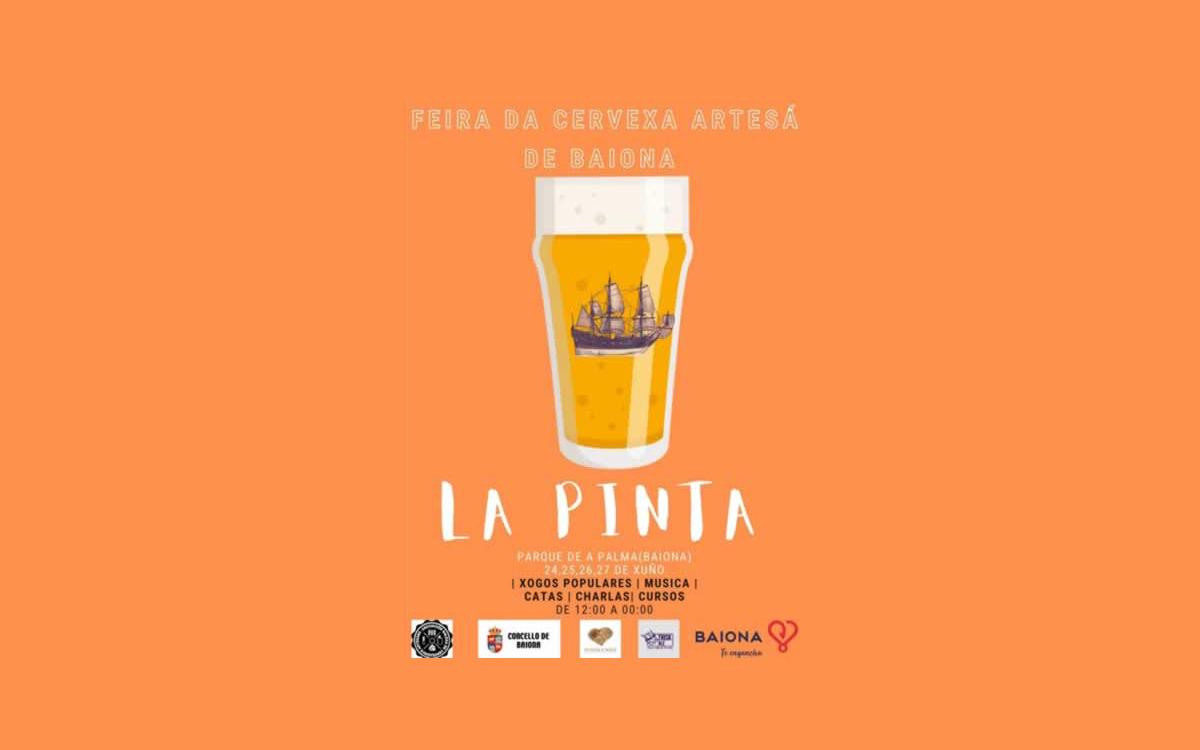 """I Feria de la Cerveza Artesana de Baiona """"La Pinta"""""""