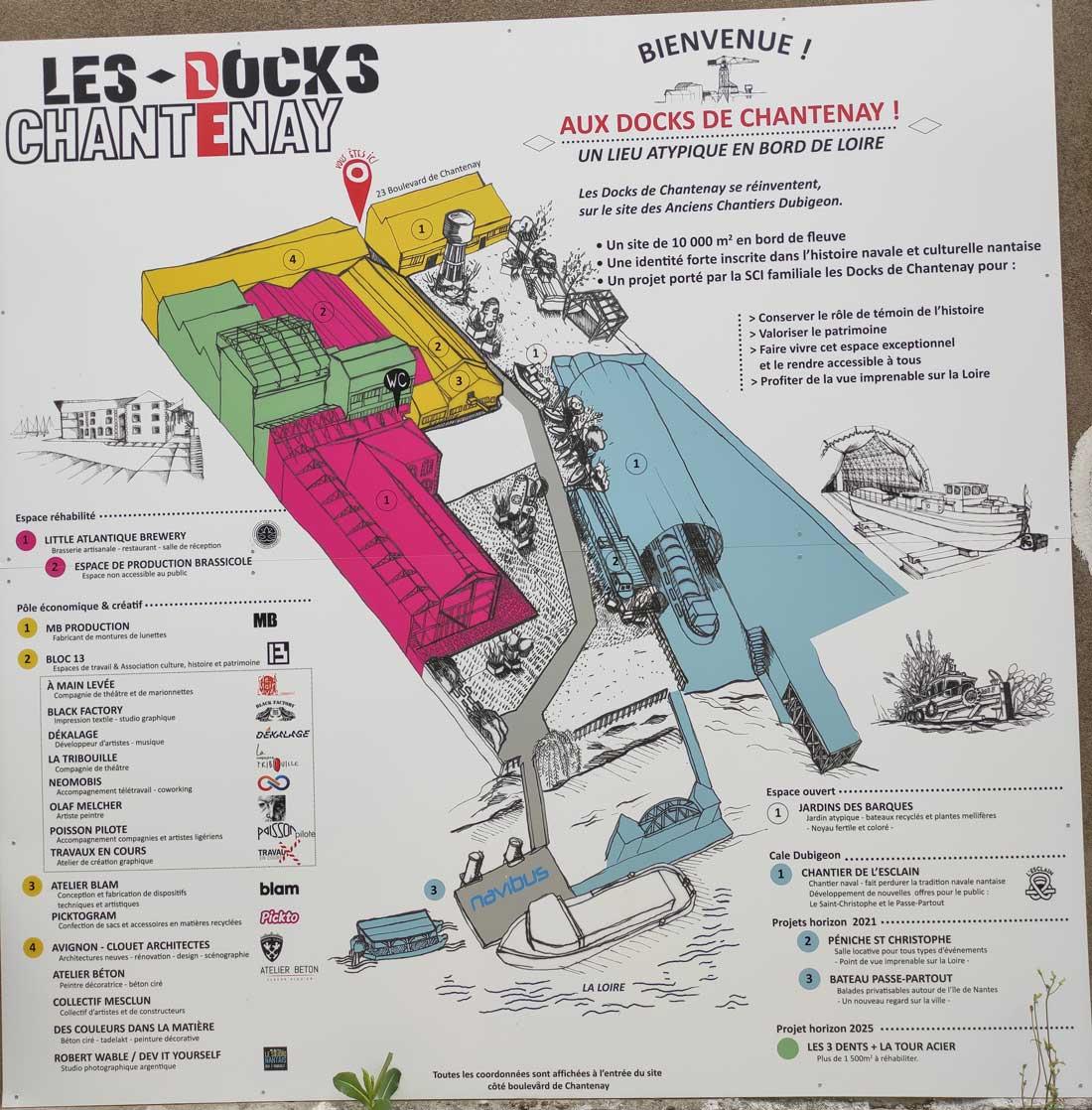 Mapa de Les Docks Chantenay