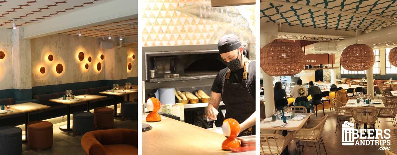 Espacios del restaurante Sumac & Mambo