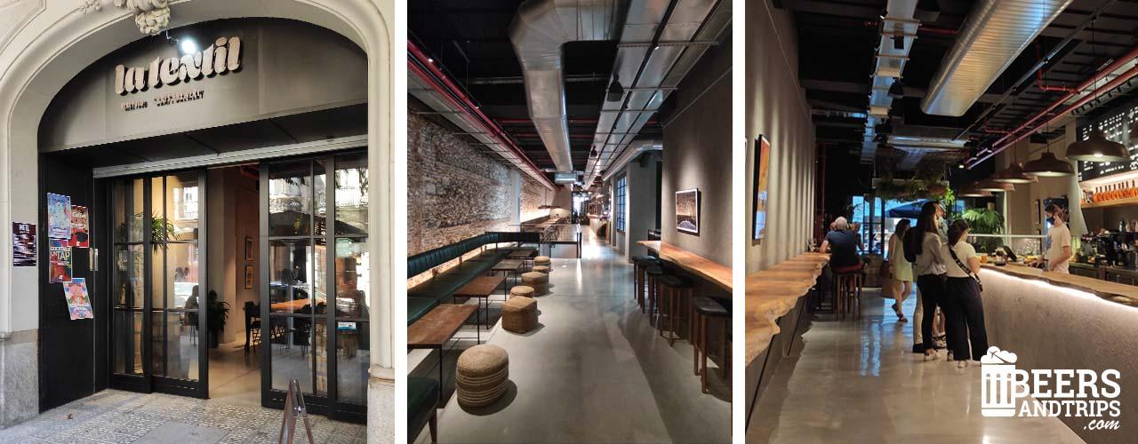 La Textil de Barcelona, un nuevo punto de disfrute de la Cerveza Artesana