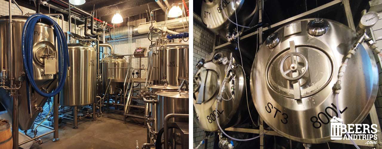 Fábrica de cervezas artesanas de La Textil