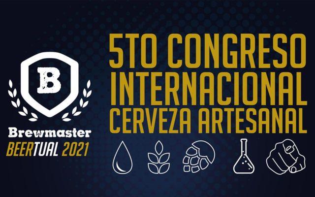 Brew Master 2021: V Congreso Internacional de cerveza artesanal en Mar de Plata