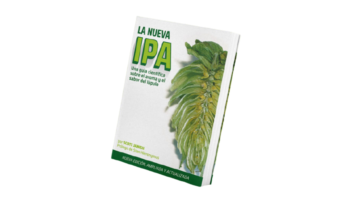 """""""La Nueva IPA: Una Guía Científica sobre el aroma y el olor del lúpulo"""" de Scott Janish"""