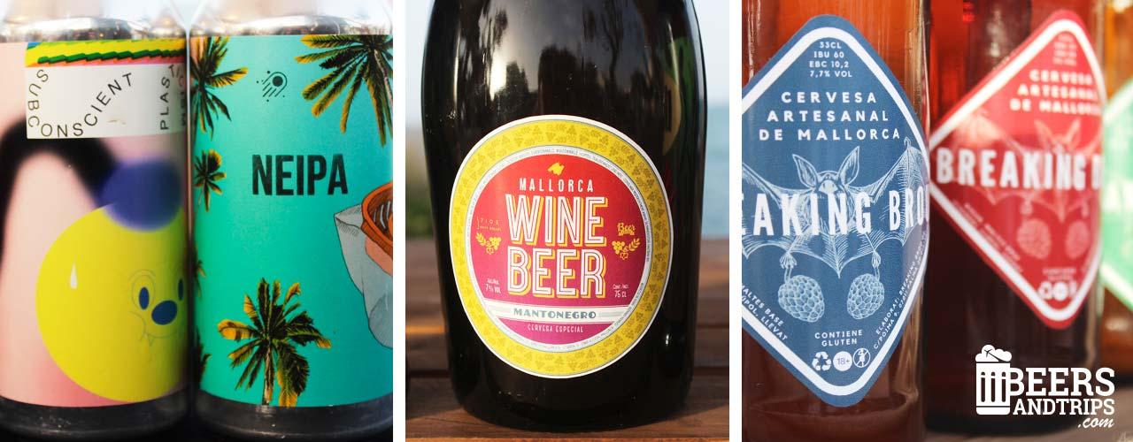 Cervezas artesanas presentes en la I Fira de Cerveses Artesanes de Balears